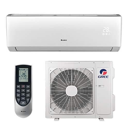 Gree 18,000 BTU 16 SEER LIVO+ Wall Mount Ductless Mini Split Air Conditioner Heat Pump 208/230V