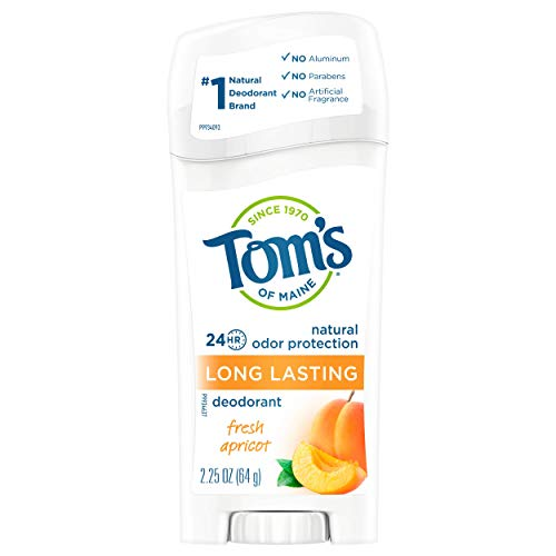 Toms Of Maine Natural Deodorant Stick Apricot, 2.25 Ounce