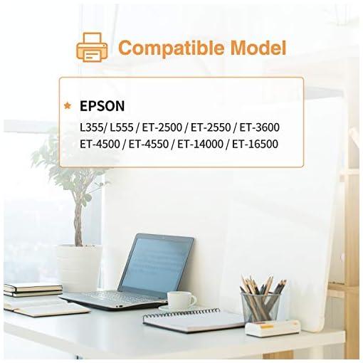 IUBEST 664 Compatiable para Epson 664 T6641 T6642 T6643 T6644 Ecotank Botellas de tinta para Epson EcoTank L355 L555 ET… 2
