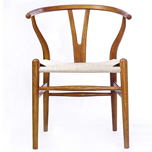 Tomile Wishbone Y Solid Dining Rattan Chairs