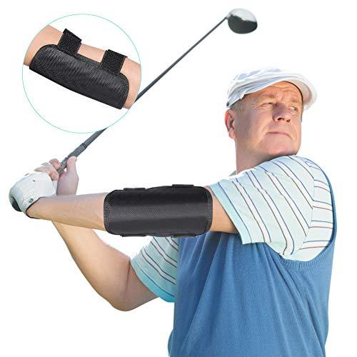 Haofy Golf Trainingshilfe, Golf Schwungtrainer Ellbogen Trainingshilfen Golf Trainingshilfen Schwungtraining für Anfänger Training, Passen Damen und Herren