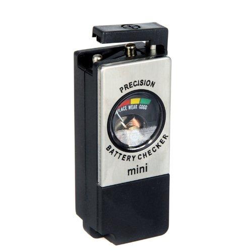 KINGZER Mini Universal Akku Tester Checker AA AAA C D 9V Button Checker bt-850