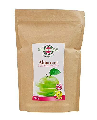Naturmind Apfelfaser 2erPack(2x200g) Glutenfrei Paleo-Vegan Produkte