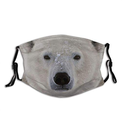 Transpirable, unisex, funda protectora para la cara, reutilizable, para ojos, grasa, oso polar, para dormir, pasamontañas, diademas para deportes al aire libre para adultos