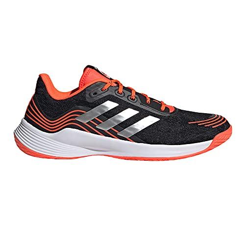 adidas Novaflight M, Zapatillas de Running Hombre, NEGBÁS/Plamet/Rojsol, 43 1/3 EU