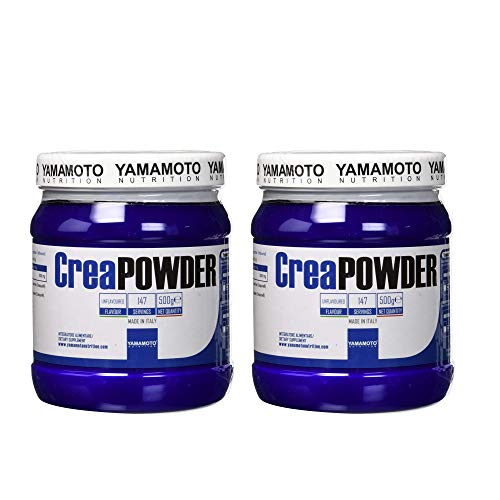 Yamamoto Nutrition CreaPowder Integratore Alimentare a Base di Creatina… (1kg (2 confezioni))