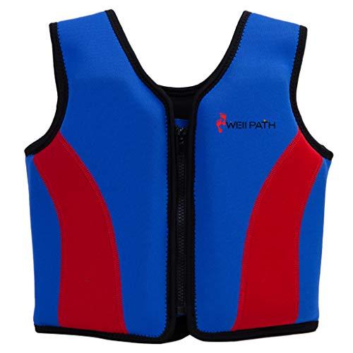 Gogokids Giacca da Nuoto per Bambini Gilet da Nuoto per Bambini Giubbotto di addestramento Giubbotto di addestramento per 2-9 Anni Bambino/i Bambini