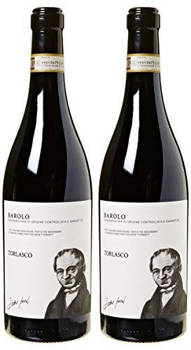 Torlasco Confezione Regalo Bottiglie Barolo Docg - Confezione da 2 X 750 ml