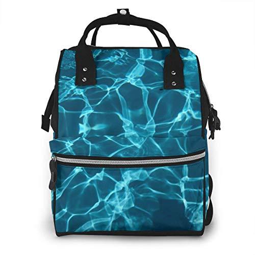Aqua Marble luiertas rugzak baby luiertas multifunctionele waterdichte Travel Back Pack