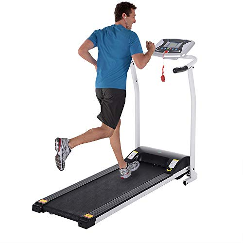 Big Save! Folding Treadmills Electric Motorized Running Exercise Equipment w/Incline LCD Display for...