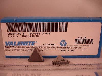 Valenite 10Pcs Tng 332 Vc2 Valenite Carbide Inserts New/&Original