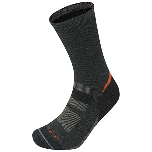 Lorpen Unisex H2md Hunting Extreme Crew Socken, B-Charcoal, L