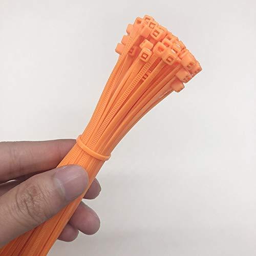 W.Z.H.H.H Cable de Nylon 3x200mm Nylon de uniones de Cable de Bloqueo...
