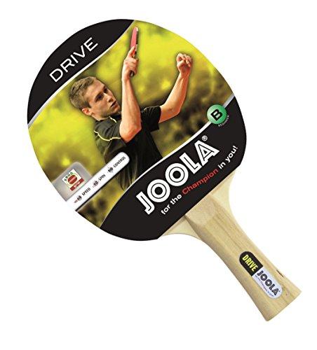 Joola Tischtennisschläger DRIVE Tischtennis-Schläger Ideal für Einsteiger-5fach verleimtes Spezialsperrholz, Mehrfarbig, 1,0 MM Schwamm
