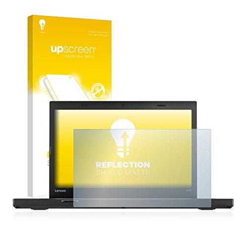 upscreen Entspiegelungs-Schutzfolie kompatibel mit Lenovo ThinkPad L470 – Anti-Reflex Bildschirmschutz-Folie Matt