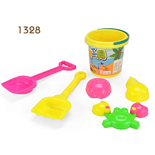 pinshun Juego para niños Juguetes de Playa Juguetes de Playa Juguetes para bebés, niños, Pala Barril @ 1328 Juguetes de Arena de Playa