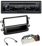 caraudio24 Kenwood KDC-110UB 1DIN MP3 USB CD AUX Autoradio für Dacia Lodgy Dokker Duster Sandero schwarz