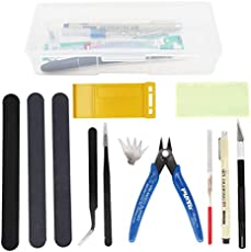 binifiMux 12pcs Gundam Model Building Repairing Fixing Tools Kit Hobby Building Tools Set