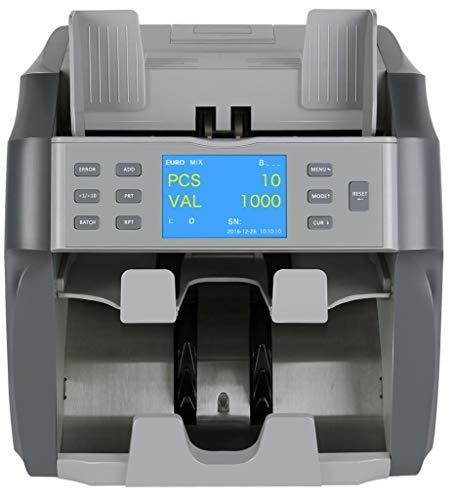 Contabanconote e Rilevatore di Banconote False MBS-4000 Nero