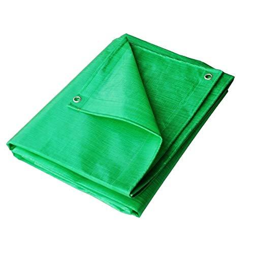 WZNING Protección Impermeable de plástico Plegable Coche Lona de protección Solar a Prueba de Lluvia del Techo del camión Gazebo multifunción Durable y Protector (Color : Green, Size : 3X7M)
