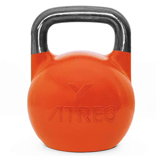Photo of ATREQ Competition Pro Grade Kettlebells – 8KG > 36kg – Perfect for CrossFit Boxes, Commercial Gyms, PT Studios. (12KG)