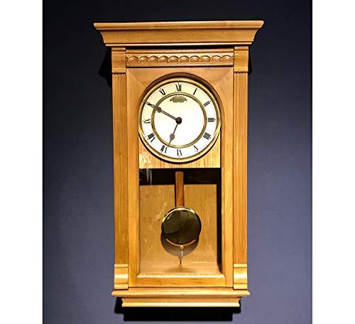 RELOJESDECO Reloj de Pared de péndulo 58 cm, Reloj de péndulo, Reloj de carrillón, maquinaria Cuarzo,