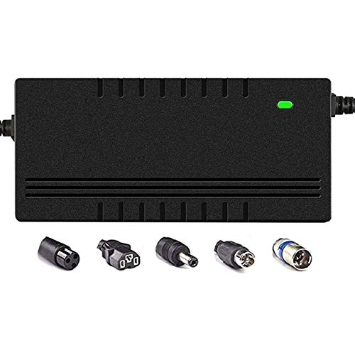 LIUPING 36V / 48V (2A / 3A / 5A) Ladegerät Elektrofahrrad-Scooter Batterieladegerät 42V / 54,6V Lithium-Akkupack Stecker Stromkabel (Color : 48V 2A, Size : E)