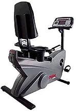 Life Fitness LifeCycle 9500HR Recumbent Exercise Bike