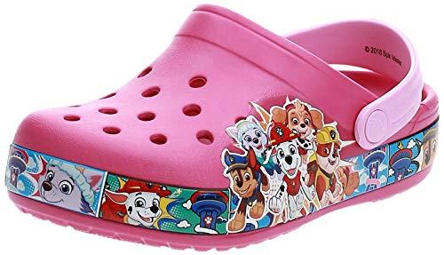 Crocs Unisex-Kinder Fun Lab Paw Patrol Band Clogs, Pink (Fuchsia 670), 33/34 EU