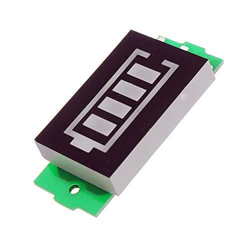 ICQUANZX Lithium batterij power indicatorbord 6/12/24/36 / 48V opslag batterijweergave van elektrische auto (1-6s)