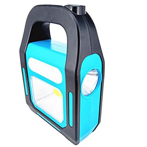 Luci da campeggioTorcia da lavoro a luce portatile portatile a energia solare USB ricaricabile per esterni Torcia-A