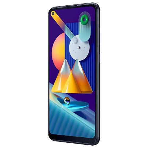 SAMSUNG Galaxy M11   Smartphone Dual SIM, Pantalla de 6,4'', Cámara 13 MP, 3 GB RAM, 32 GB ROM Ampliables, Batería 5.000 mAh, Android, Color Negro