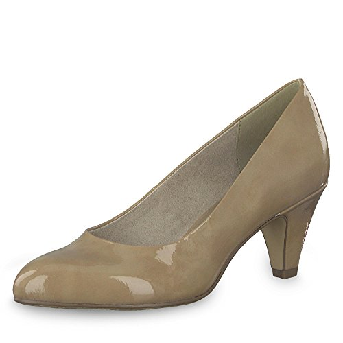 Tamaris Damen Pumps Pumps Cress 1-1-22416-21 253 beige 524135