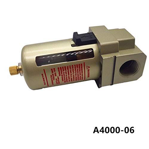AF4000-04 G1 / 2 AF4000-06 G3 / 4 Luftquelle Prozessor Kupferfilter, Luftpumpe Und Filter Oil Wasserabscheider Mit Messing Aufzählungs Guard (Color : AF4000 06 ADD stents)