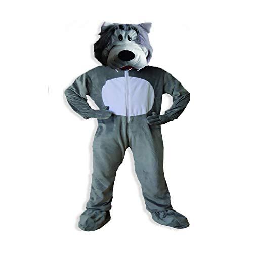 Dress Up America Costume de loup gris mignon des adultes , Taille unique (Taille 60 Pouces , Hauteur 75 Pouces) , Comme la Présentation