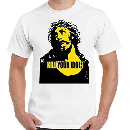 New Rare Kill Your Idols Tshirt As Worn by Axl Rose Mens s & Roses Freddie