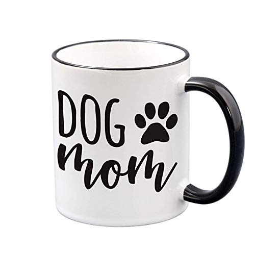 Taza de café de 325 ml, divertidas tazas de café para mujeres, regalos para amantes de los perros para mamás, hermanas, tías, ella o amigas, idea de regalo para dueños de mascotas