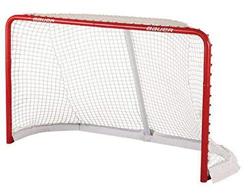 Bauer hockeytor Deluxe 183 cm rot/weiß