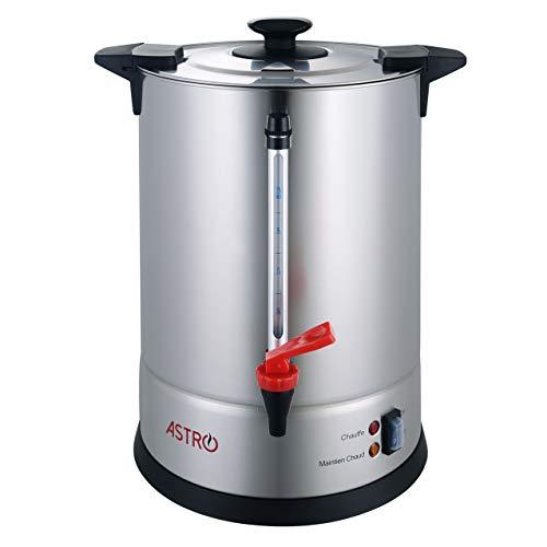 Astro Percolateur à Café 11L - 100 Tasses - Filtre Inox Permanent
