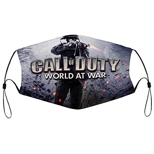 Best-design Call of Duty cómodas bandas elásticas ajustables para hombres y mujeres decoración de la cara, neutral y reutilizable elegante funda lavable
