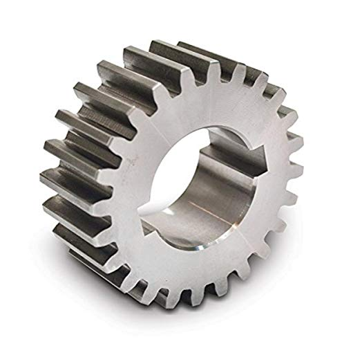 "Boston Gear GB34 Plain Change Gear, 14.5 Degree Pressure Angle, 16 Pitch, 0.750"" Bore, 34 Teeth, Steel"