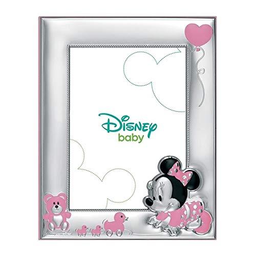 Cadre Photo Portafotos Plata 925M Disney 9X13Cm Loi. Minnie Bébé