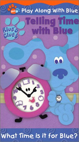 Blue's Clues - Telling Time With Blue [VHS]