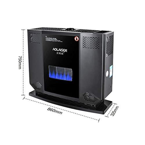BUYAOBIAOXL Calentador de Patio Exterior Portable al Aire Libre del butano Llevan la manija de Gas del Calentador Camping al Aire Libre Seguridad de la Parrilla (Color : Liquefied Gas Type)