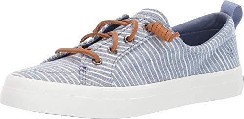 Femmes Sperry Chaussures De Sport A La Mode Couleur Bleu Blue/White Taille 41.5