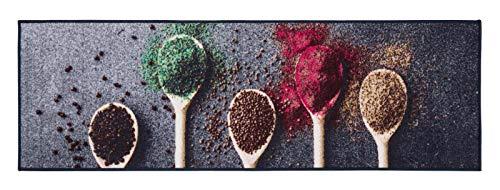 Küchenläufer rutschfest, waschbar, Läufer, Oeko-Tex 100, Küchenteppich, div Motive in 3 Größen (Tomate, 57x180cm)