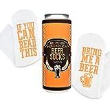 """Calcetines """"Si Puedes Leer Esto Tráeme Cerveza"""" con Empaquetado de Regalo de Lata de Cerveza de Smith's®"""