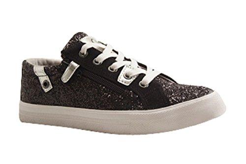 Kaporal Shoes - AMBERA - Training Lacet - Noir