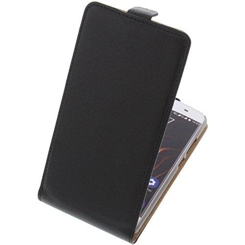 foto-kontor Tasche für Oukitel C5 Pro Flipstyle Schutz Hülle Handytasche schwarz