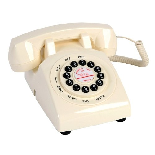 Retro Handy Classic Phone 43750 Ivory